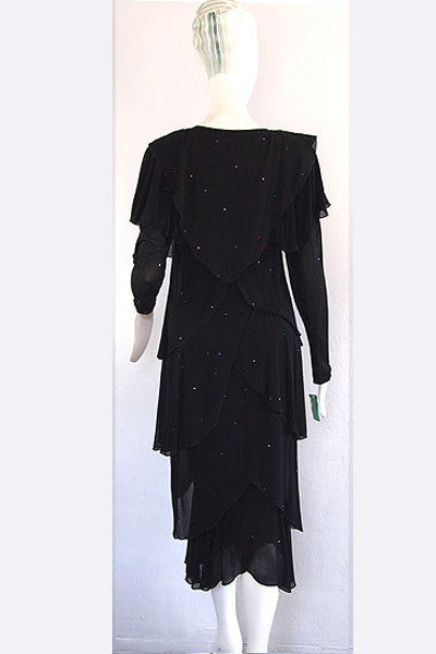 1980s Holly Harp Dress
