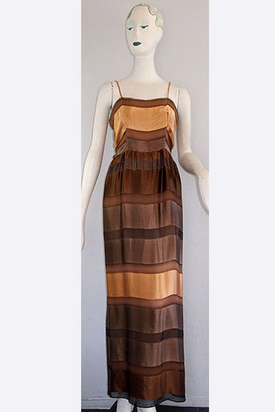 1970s Valentino Evening Dress