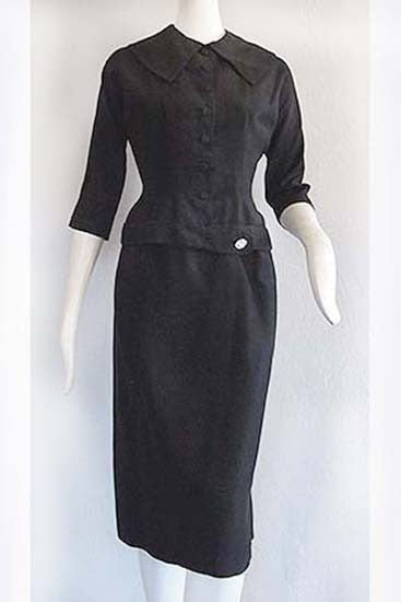 1950s Hourglass Dress Suit