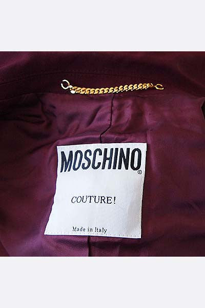 1990s Moschino Couture Suit