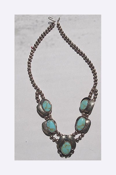 1970s Turquoise Necklace