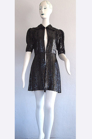 1940s Valentina Sequin Jacket
