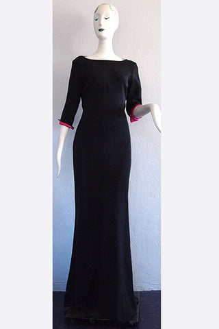 1990s Bill Blass Evening Gown