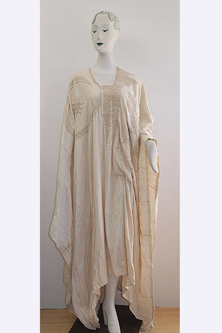 1920s Nigerian Yourba Agbada or Riga Hausa Islamic Chief's Robe