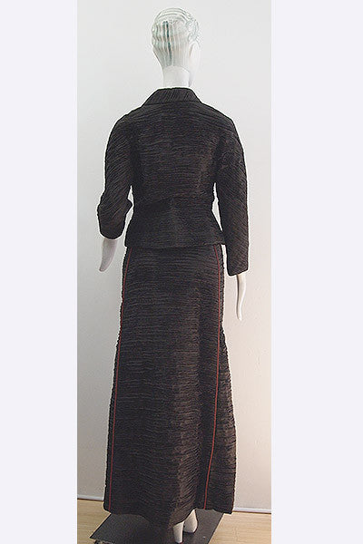 1950s Sybil Connolly Pleated Ensemble