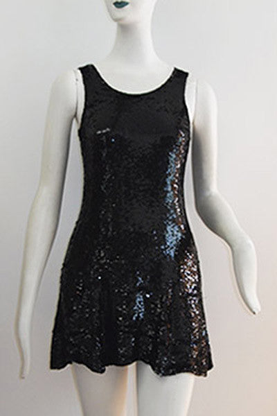 1990s Katharine Hamnett Sequin Mini Dress