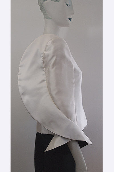 1980s Roberto Capucci Winged Arm Jacket