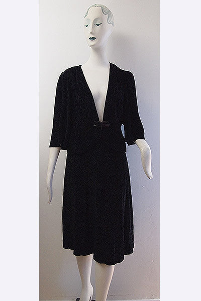 1960s Lee Bender Velvet Ensemble