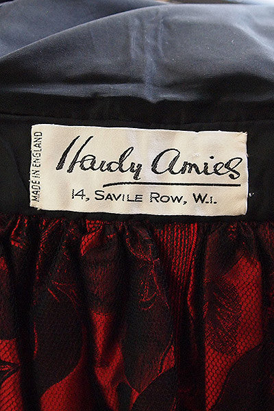 1980s Hardy Amies Couture Ball Gown