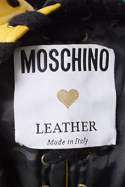 1990s Franco Moschino Leather Vest