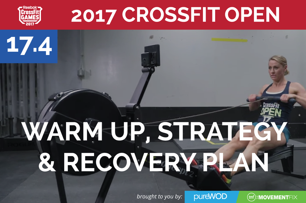 Prep, Strategy and Recovery for CrossFit Open Workout 17.4 (and GREENS Giveaway)