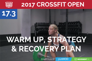 Prep, Strategy and Recovery for CrossFit Open Workout 17.3 (and PRE Giveaway)