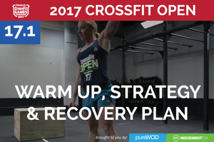 CrossFit Open Workout 17.1 Prep, Strategy and Recovery (and pureWOD Giveaway)