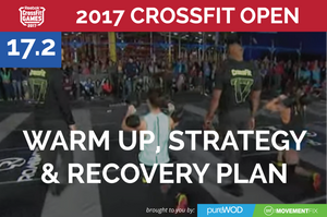 Prep, Strategy and Recovery for CrossFit Open Workout 17.2 (and Protein Giveaway)