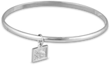 2019 Bangle Bracelet in Sterling Silver