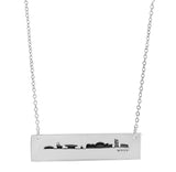 Cambridge Skyline (Back) in Sterling Silver