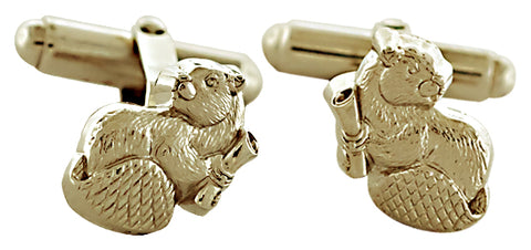 2021 MIT Mascot Cuff Links in 10KY Gold