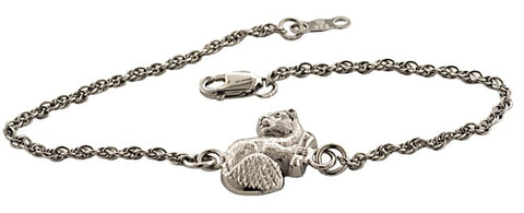 2021 MIT Mascot Charm Bracelet in Sterling Silver