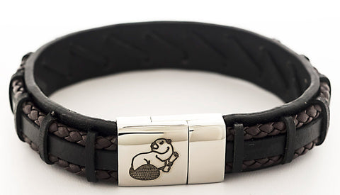 2021 MIT Leather Mascot Bracelet