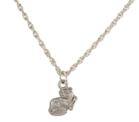 2021 MIT Mascot Pendant Necklace in Sterling Silver