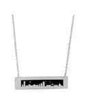 2018 Boston and Cambridge Skylines Necklace