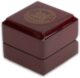 2018 Cherry Wood Ring Boxes (set of two)