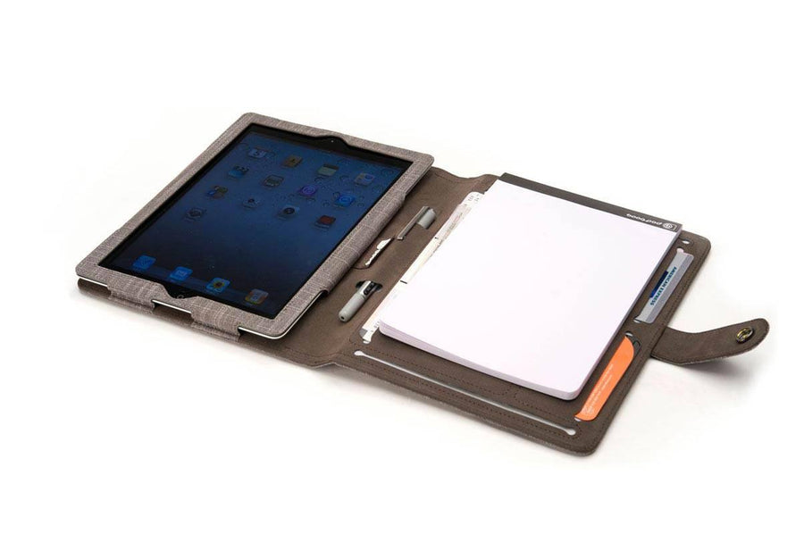 Jute ipad-3-case-notepad for iPad 2-4