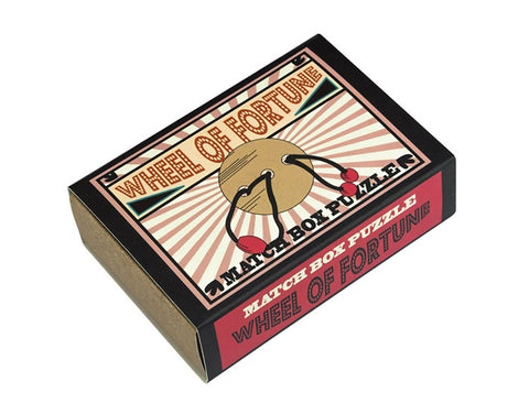 Wheel of Fortune Matchbox Puzzle