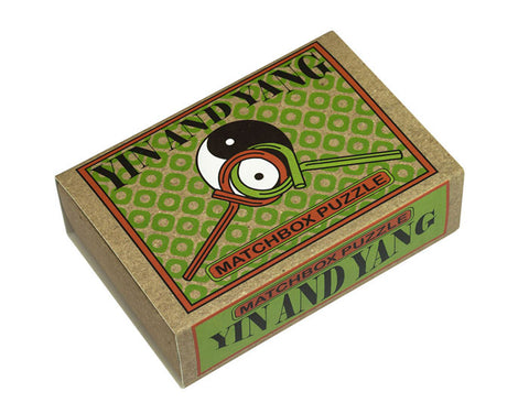 Yin and Yang Matchbox Puzzle