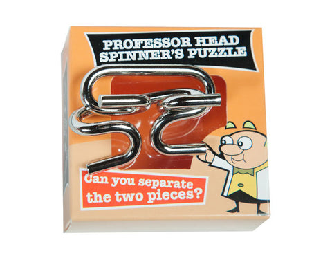 Professor Head Spinners Puzzle