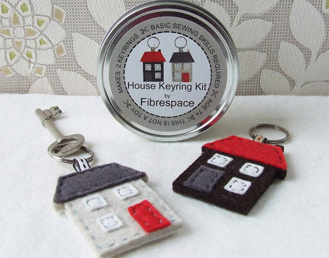 House Keyring Sewing Kit