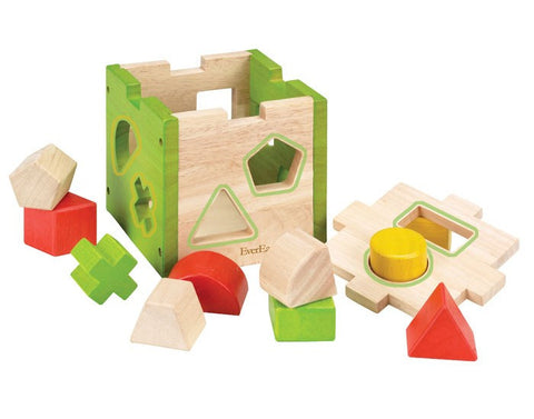 Shape Sorter Box Learning Toy