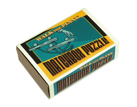 Walk the Plank Matchbox Puzzle