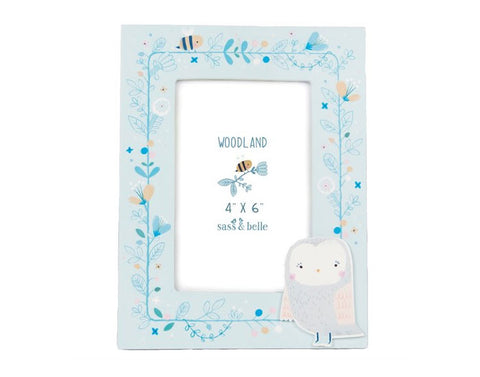 Owl Woodland Friends Photo Frame