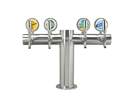 "DRAUGHT BEER TOWERS: LIT METRO ""T"""