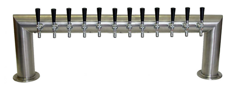 "DRAUGHT BEER TOWERS: 4"" PASS THRU"