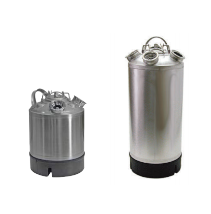 STAINLESS STEEL CLEANING CANS