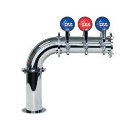 "DRAUGHT BEER TOWERS: 4"" LIT LINX L7"