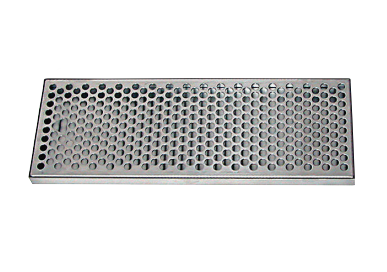 "STAINLESS STEEL WITH DRAIN - 5-3/8"" WIDE"