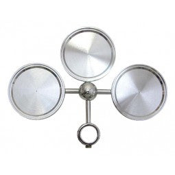 3 WAY ROUND MEDALLION HOLDER
