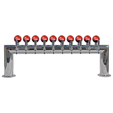 "DRAUGHT BEER TOWERS: 4"" LIT PASS THRU"