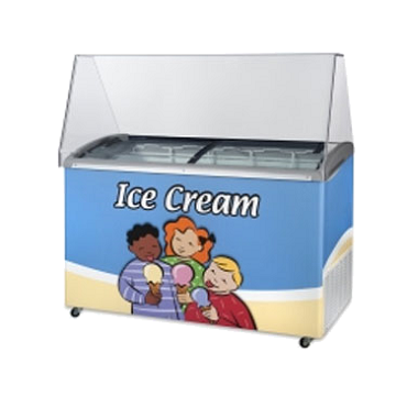 Ojeda ICE CREAM DIPPING FREEZER
