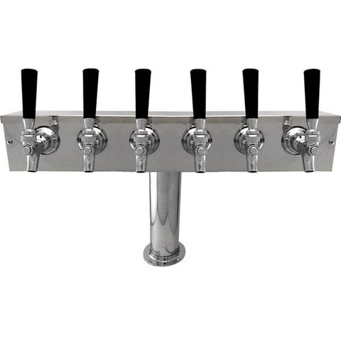 "DRAUGHT BEER TOWERS: ""T"" TOWER WITH 4"" COLUMN"