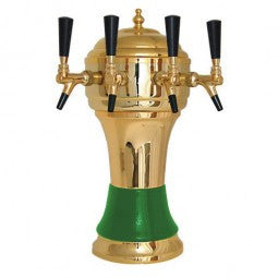 DRAUGHT BEER TOWERS: ZEUS WITH GREEN CERAMIC