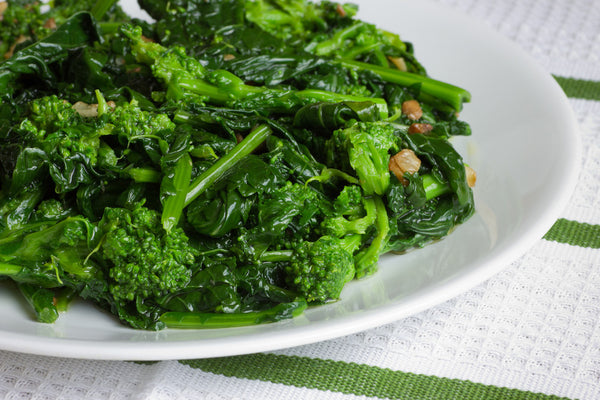 Broccoli Rabe in garlic & oil