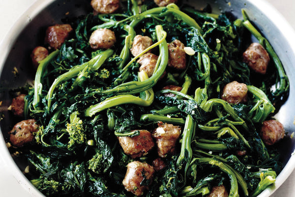 Sausage and Broccoli Rabe