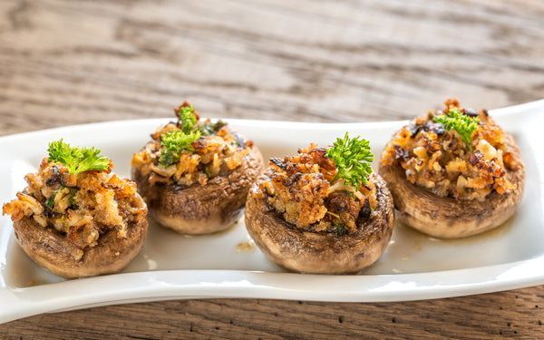 Krab Stuffed Mushrooms