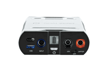 Goal Zero Sherpa 50 Portable Power Station Inputs and Outputs
