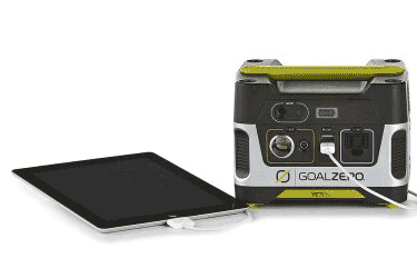 Goal Zero Yeti 150 Portable Power Tablet Charging