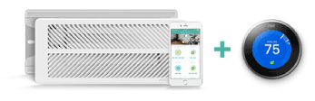 Keen Smart Vents Works with Nest Enhanced Temperature Control